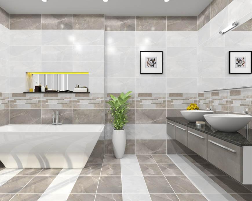 Những lưu ý khi thiết kế nội thất phòng tắm biệt thự xu hướng hiện đại 05