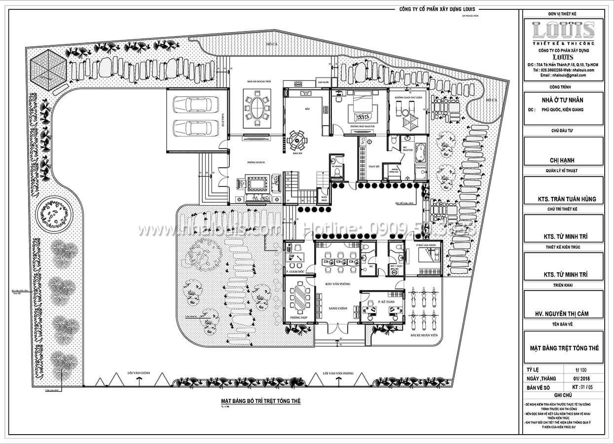 Phá cách với biệt thự 2 tầng mái thái siêu thoáng