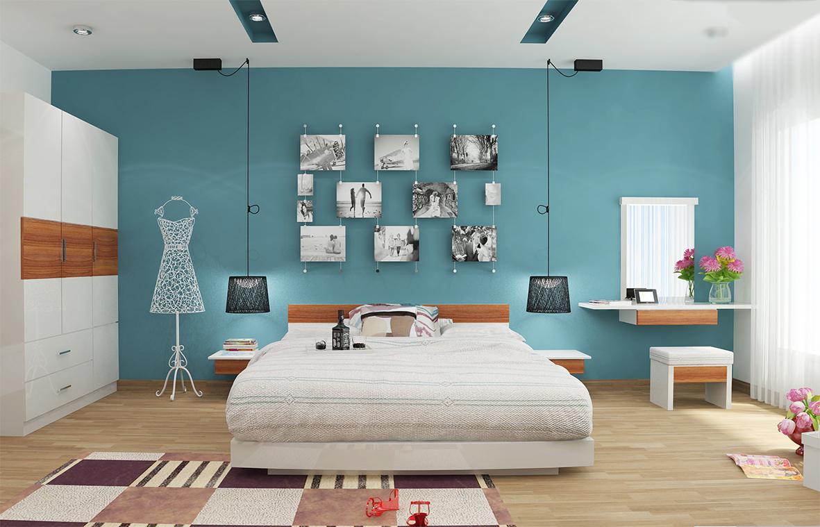 Top 3 mẫu trang trí phòng ngủ cá tính cho những cô nàng năng động