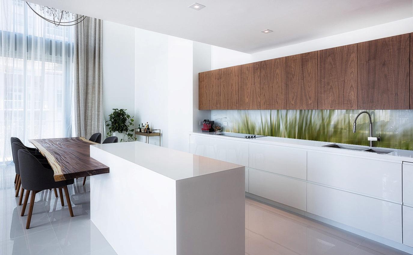 Ý tưởng chọn gạch ốp tường nhà bếp đơn giản mà sạch đẹp