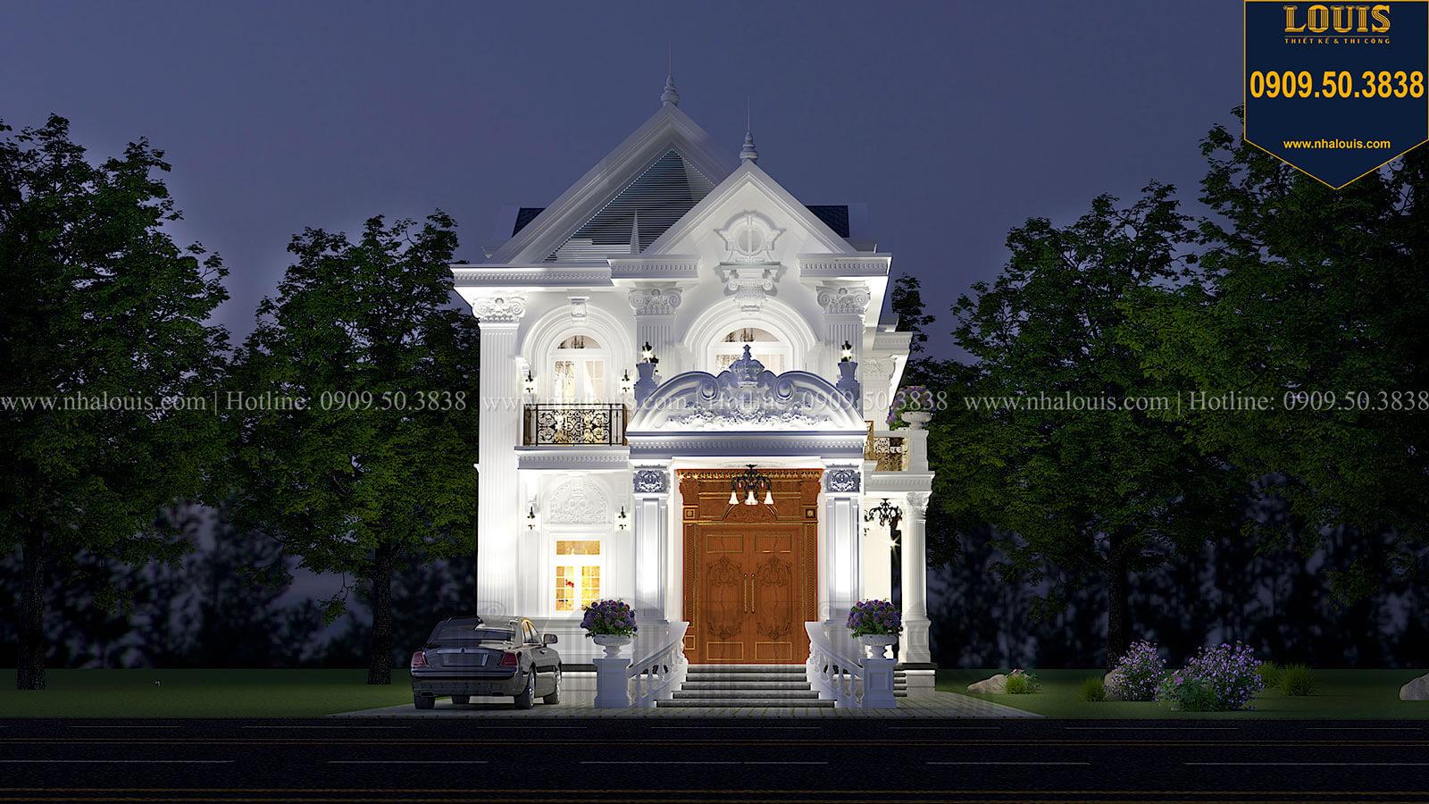 Biệt thự 2 tầng mặt tiền 9m tại Tiền Giang