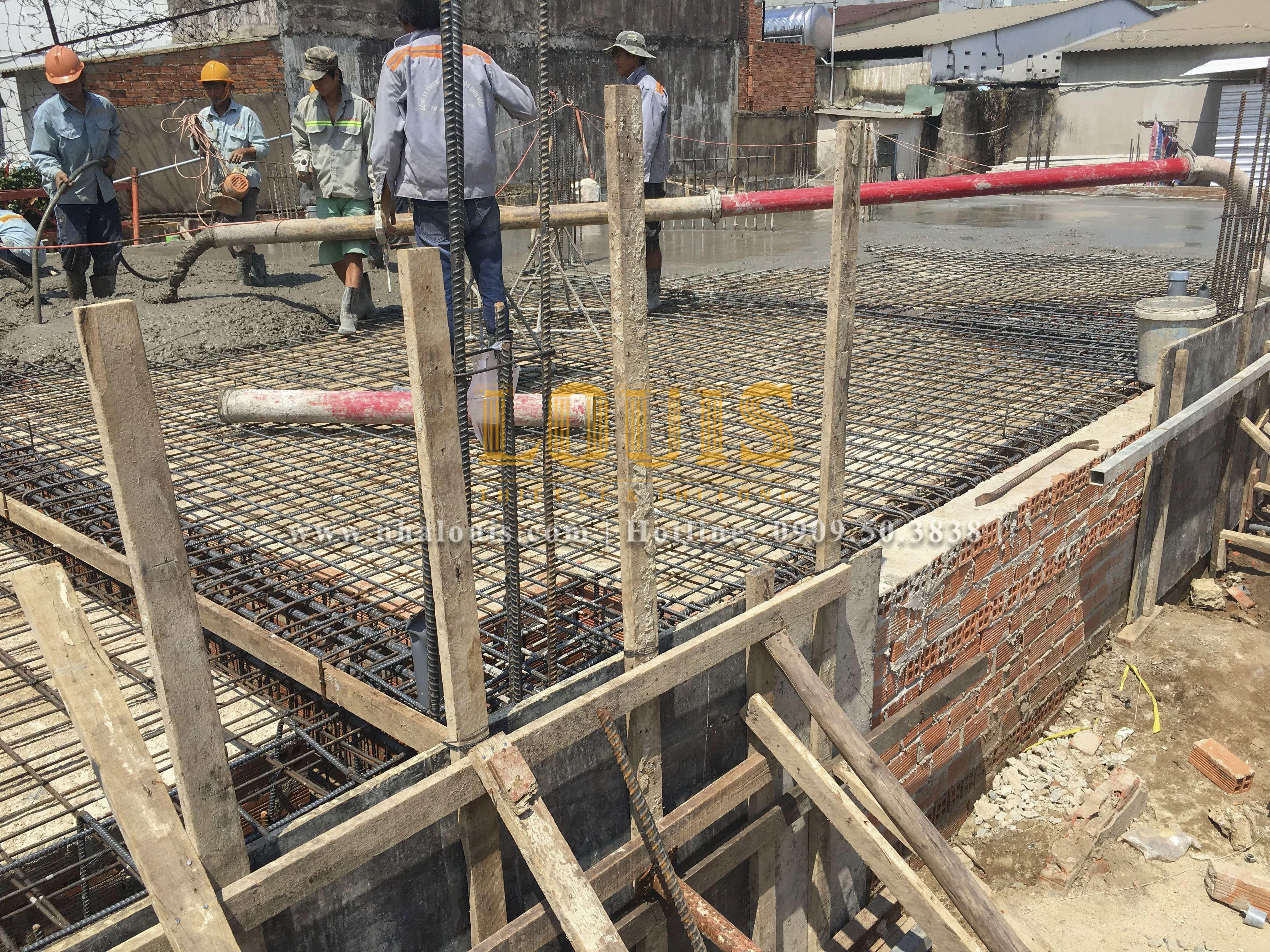 Dự án thi công biệt thự tân cổ điển đẹp hoành tráng tại Tân Phú