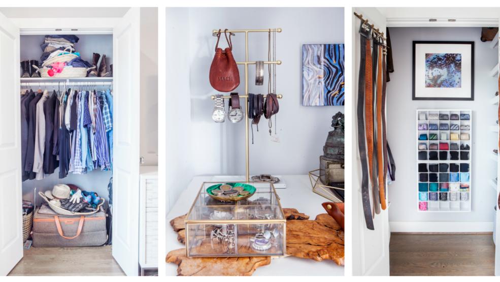 5 mẫu phòng thay đồ trong phòng ngủ cool chất 2019