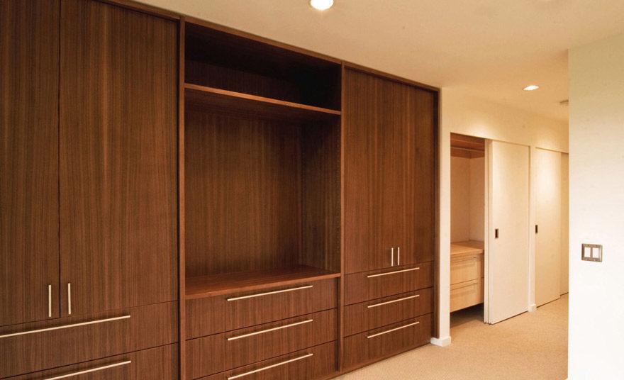 Những mẫu tủ tường gỗ đẹp đa chức năng.