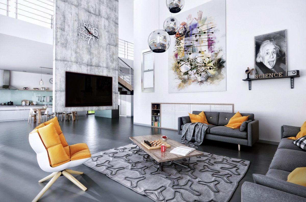 Không gian đẹp phòng khách