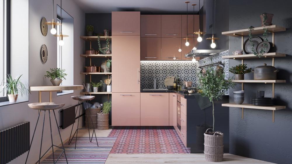 Top 09 mẫu nhà bếp nhỏ đẹp và tiện dụng