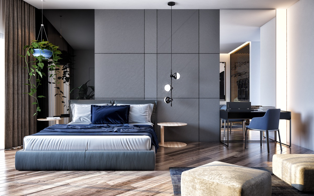 Thiết kế phòng ngủ nhỏ đơn giản