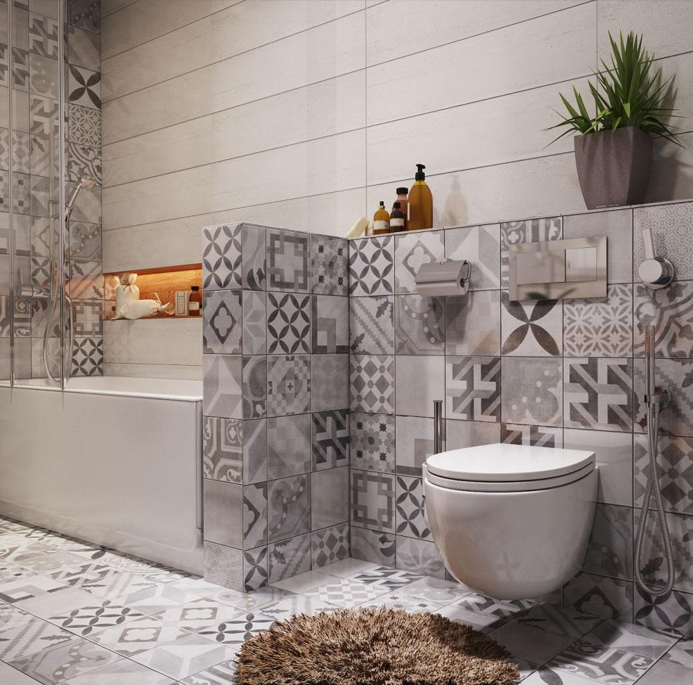Thiết kế nhà tắm nhỏ đẹp cần đảm bảo sự thiết kế tinh tế, hài hoài giữa các chi tiết trang trí