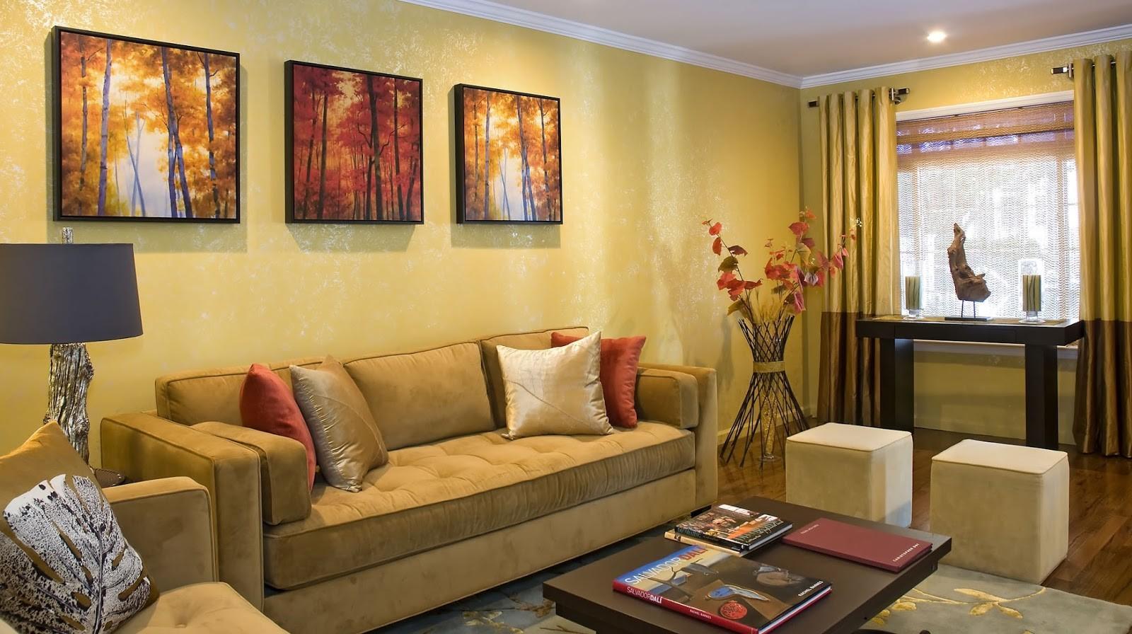 Khi sơn nhà với gam màu vàng, gia chủ sẽ có tinh thần tốt, lạc quan, yêu đời