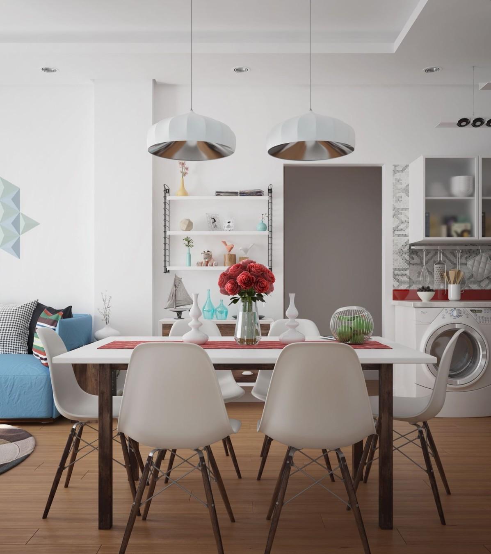 Không gian phòng ăn biệt thự đẹp sẽ thật tuyệt vời nếu gia chủ chọn những chiếc ghế và bàn ăn có thiết kế lạ mắt