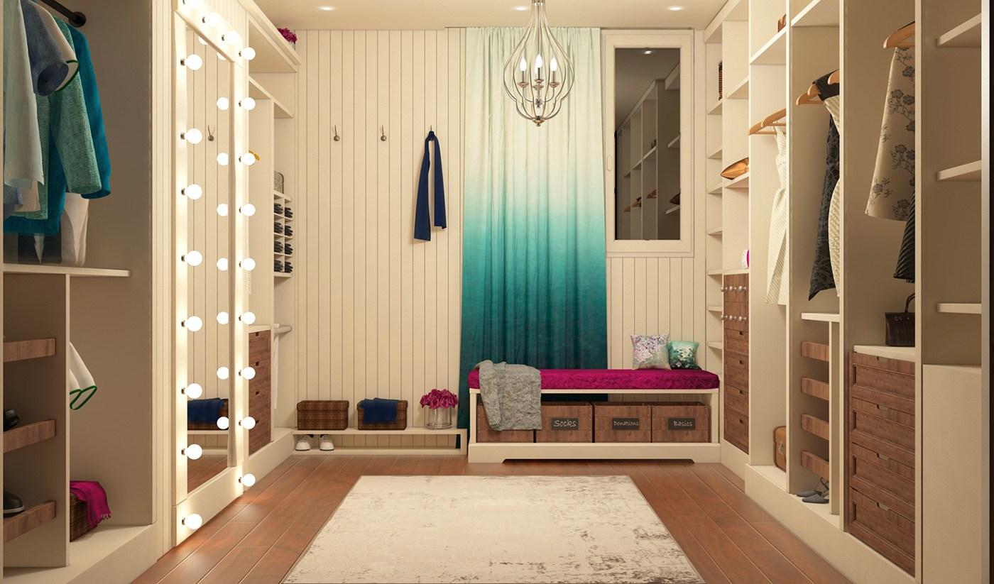 Phòng thay đồ mini sẽ thật chỉnh chu, ngăn nắp nếu như gia chủ biết cách bố trí và sắp xếp nội thất