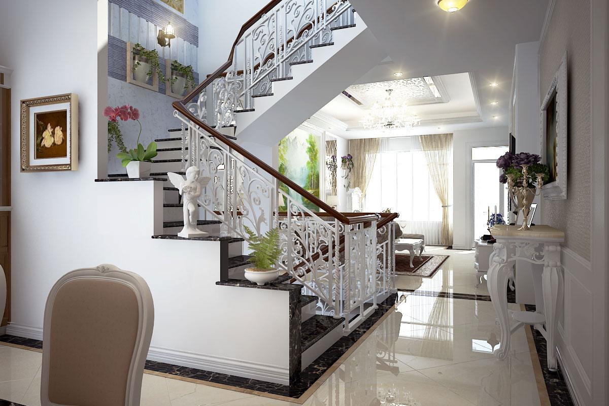 Nguyên tắc thiết kế cầu thang theo phong thủy nên chú ý thật chi tiết, cách bài trí chúng hợp lý