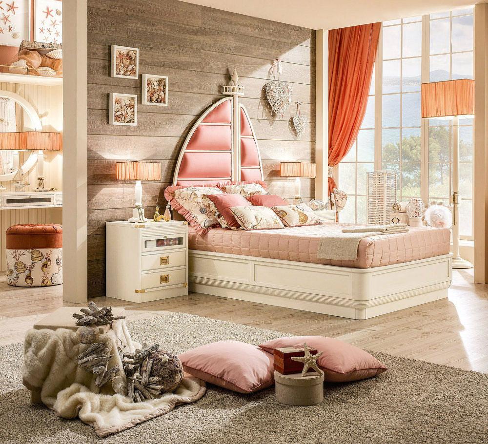Các món đồ handmade siêu dễ thương như giỏ hoa khô, lọ hoa, đèn trang trí sẽ giúp không gian phòng ngủ lung linh