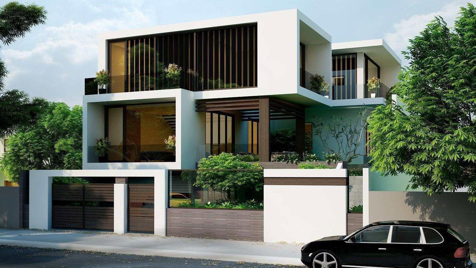 Bạn có thể hiểu một cách đơn giản, biệt thự hiện đại là biệt thự được thiết kế theo phong cách hiện đại