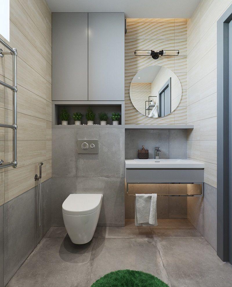 Một trong những điều quan trọng nhất khi thiết kế mẫu phòng tắm biệt thự đẹp là việc phân chia không gian khô và không gian ướt