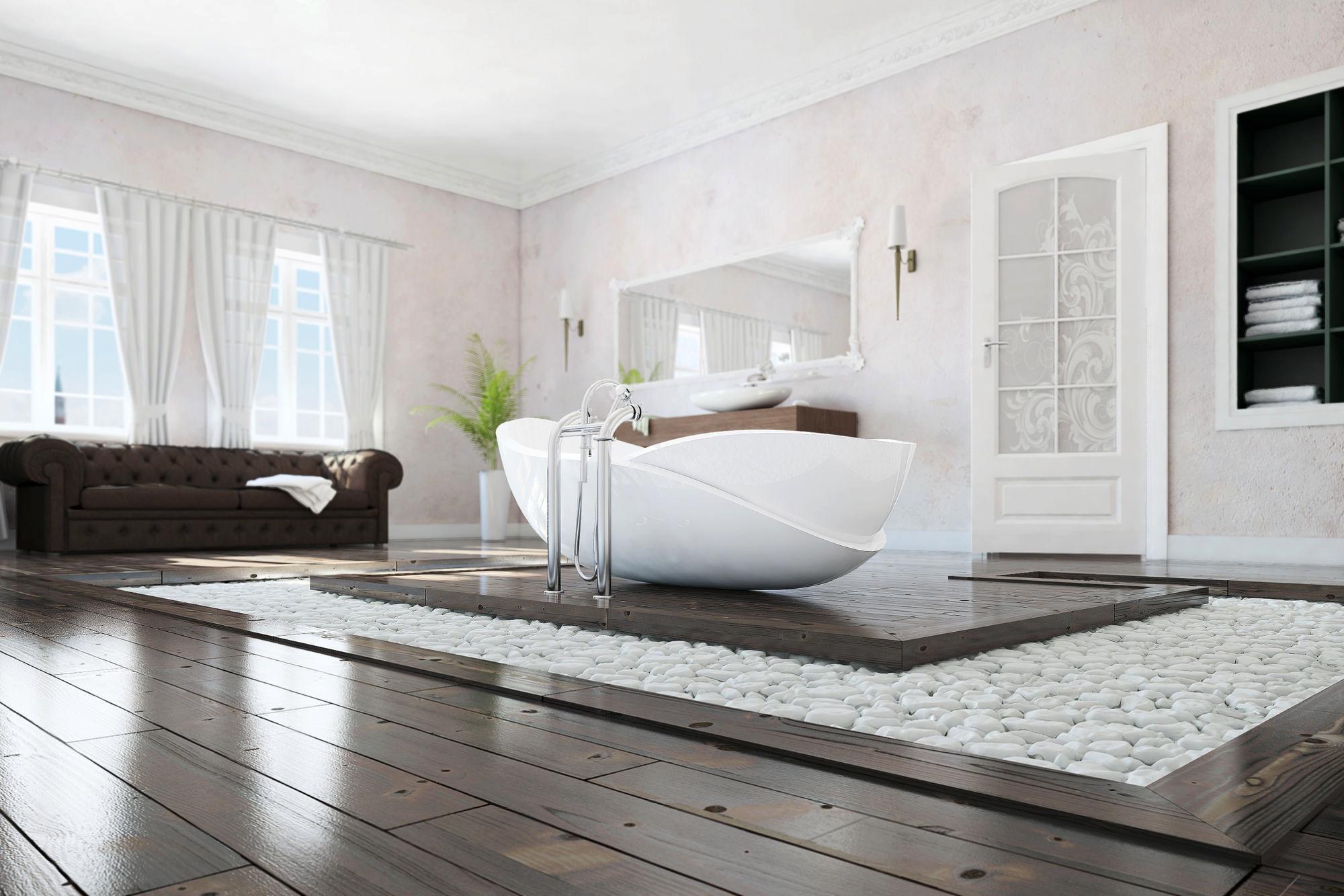Một trong những tiêu chí quan trọng khi thiết kế phòng ngủ tích hợp phòng tắm là phải đảm bảo đầy đủ ánh sáng