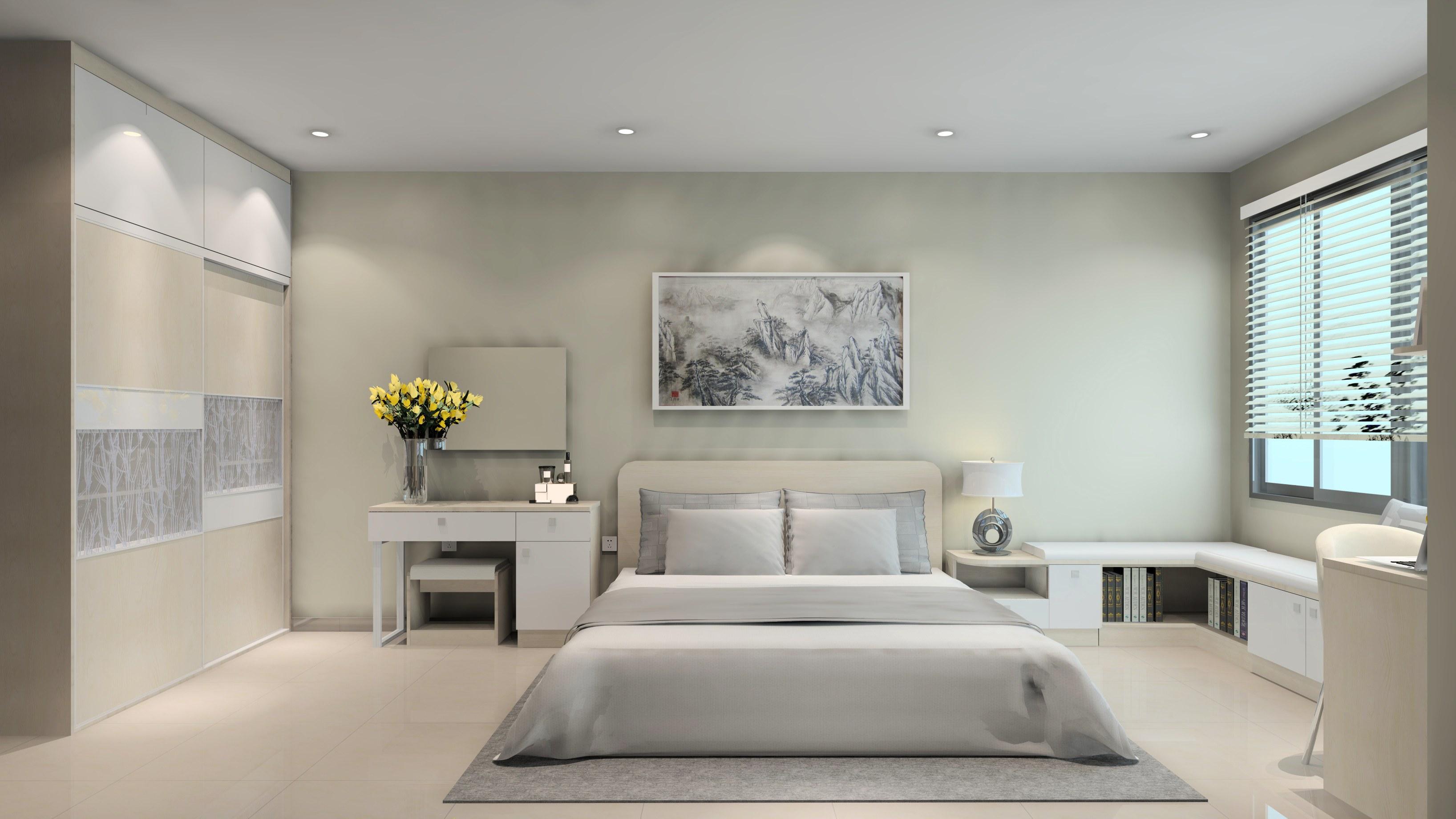 Để sở hữu không gian phòng ngủ đơn giản thì gia chủ nhất định phải biết cách chọn lựa nội thất tối giản nhất