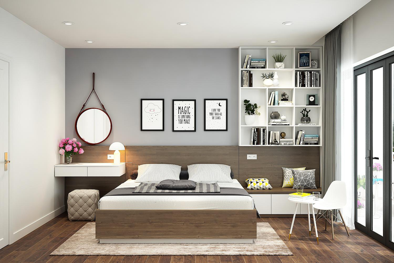 Với phong cách hiện đại, vật dụng nội thất sẽ được thiết kế một cách đơn giản, nhẹ nhàng, không hề chứa nhiều họa tiết hay hoa văn cầu kỳ