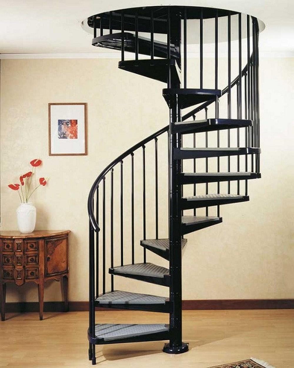 Với tính thẩm mỹ cao, mẫu thiết kế cầu thang xoắn đang trở thành xu hướng được rất nhiều gia chủ ưa chuộng