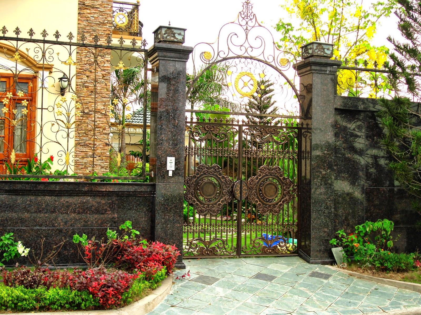 Bên cạnh kích thước, gia chủ cần học cách bố trí cổng vào nhà từ vị trí cổng, kiểu dáng đến đường dẫn từ cổng vào biệt thự