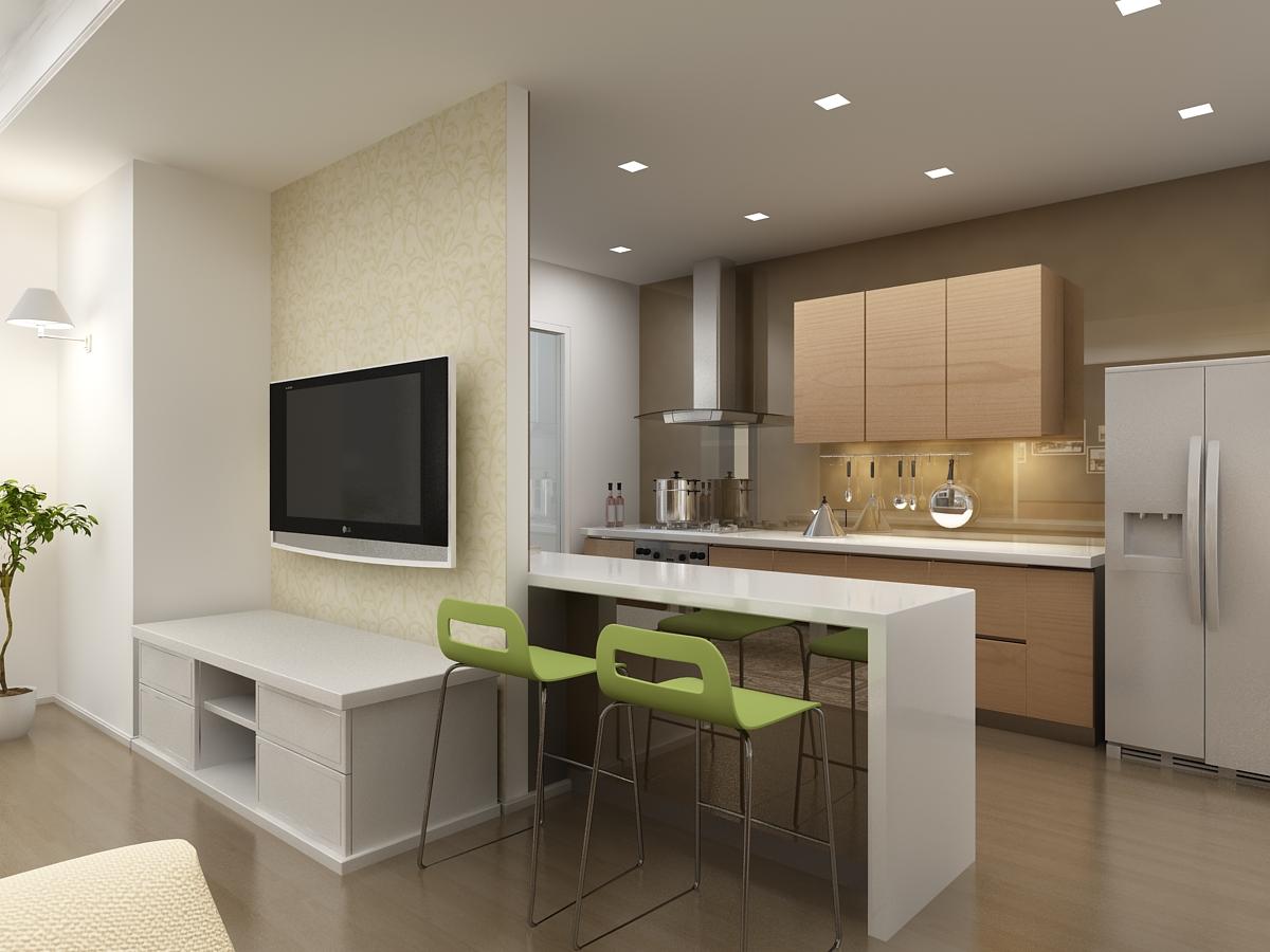 Theo mẹo trang trí biệt thự đẹp, cửa trước đối mặt trực tiếp với nhà bếp không phải là cách đặt bếp trong nhà hợp phong thủy