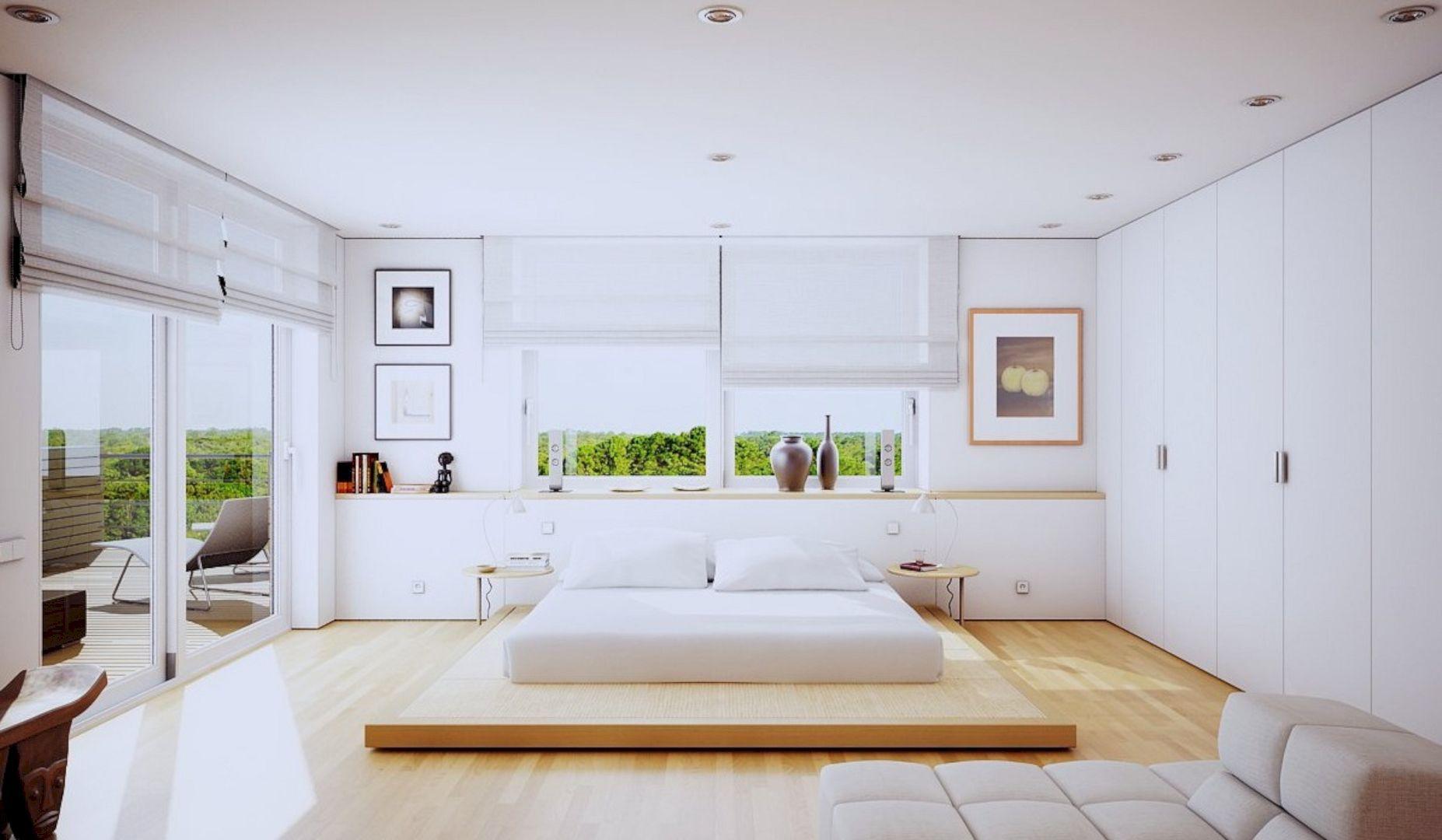 trang trí phòng ngủ không có giường