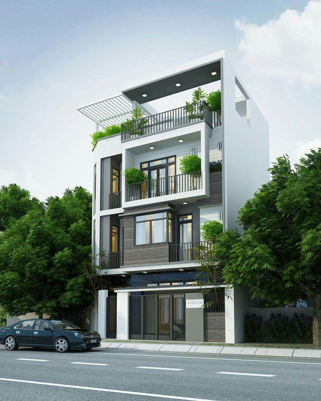 Một ngôi nhà phố 3 tầng đẹp không chỉ tiện nghi về công năng sử dụng mà còn phải đảm bảo không gian sống thoáng đãng