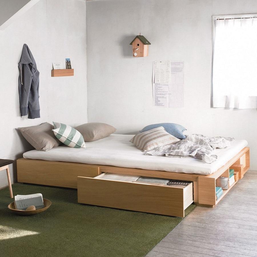Gia chủ nên sử dụng đồ dùng nội thất nhỏ gọn đồng thời kết hợp với họa tiết trang trí đơn giản
