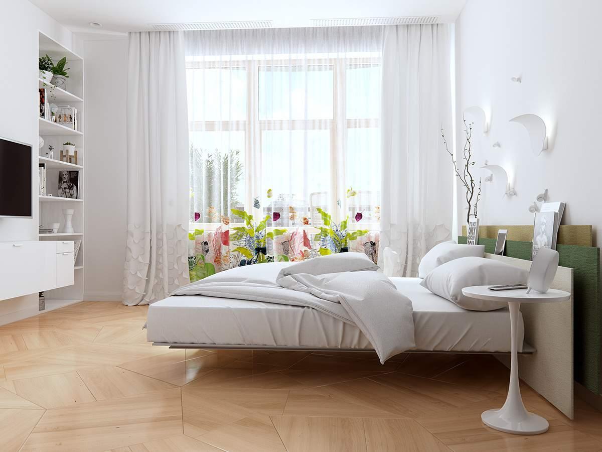 Khi trang trí phòng ngủ nhỏ hẹp, tốt nhất gia chủ nên trang trí đơn giản cả về nội thất lẫn màu sắc