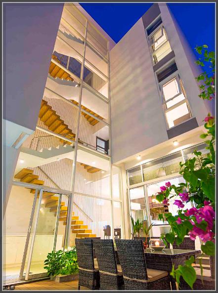 Ngỡ ngàng trước thiết kế biệt thự ba tầng đẹp sang trọng tại Tân Phú - 1