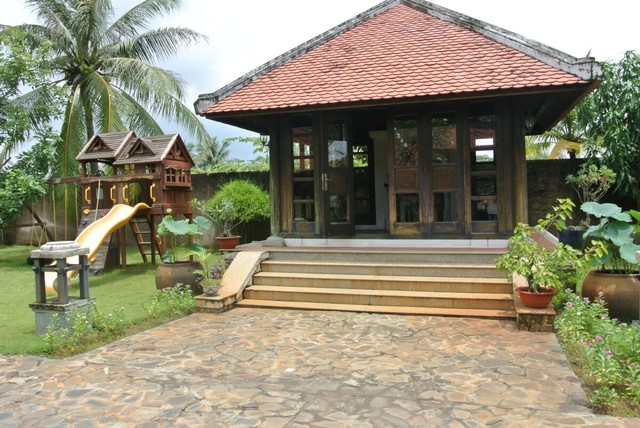 Mẫu thiết kế biệt thự nhà vườn đậm đà bản sắc dân tộc - 3