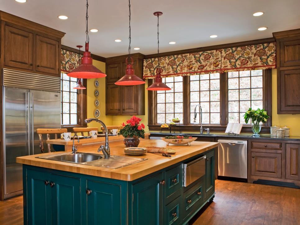 Thiết kế bếp đa sắc màu tăng hứng khởi khi chế biến món ăn ngon - 6