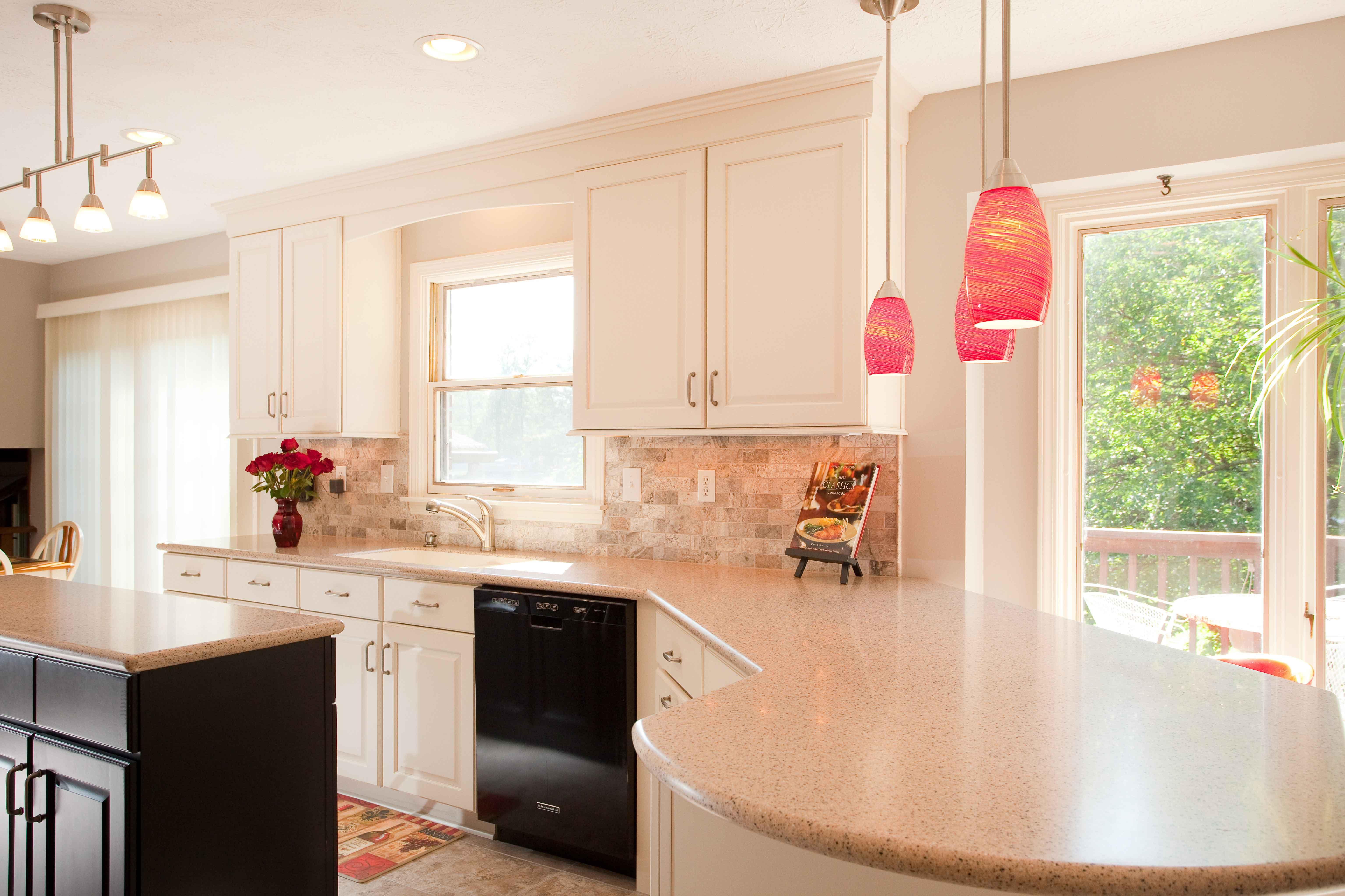 Thiết kế bếp gam màu hồng mê hoặc chị em phụ nữ từ cái nhìn đầu tiên
