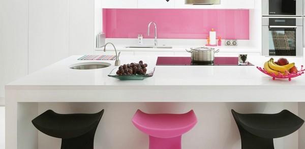 Thiết kế bếp gam màu hồng mê hoặc chị em phụ nữ từ cái nhìn đầu tiên - 3