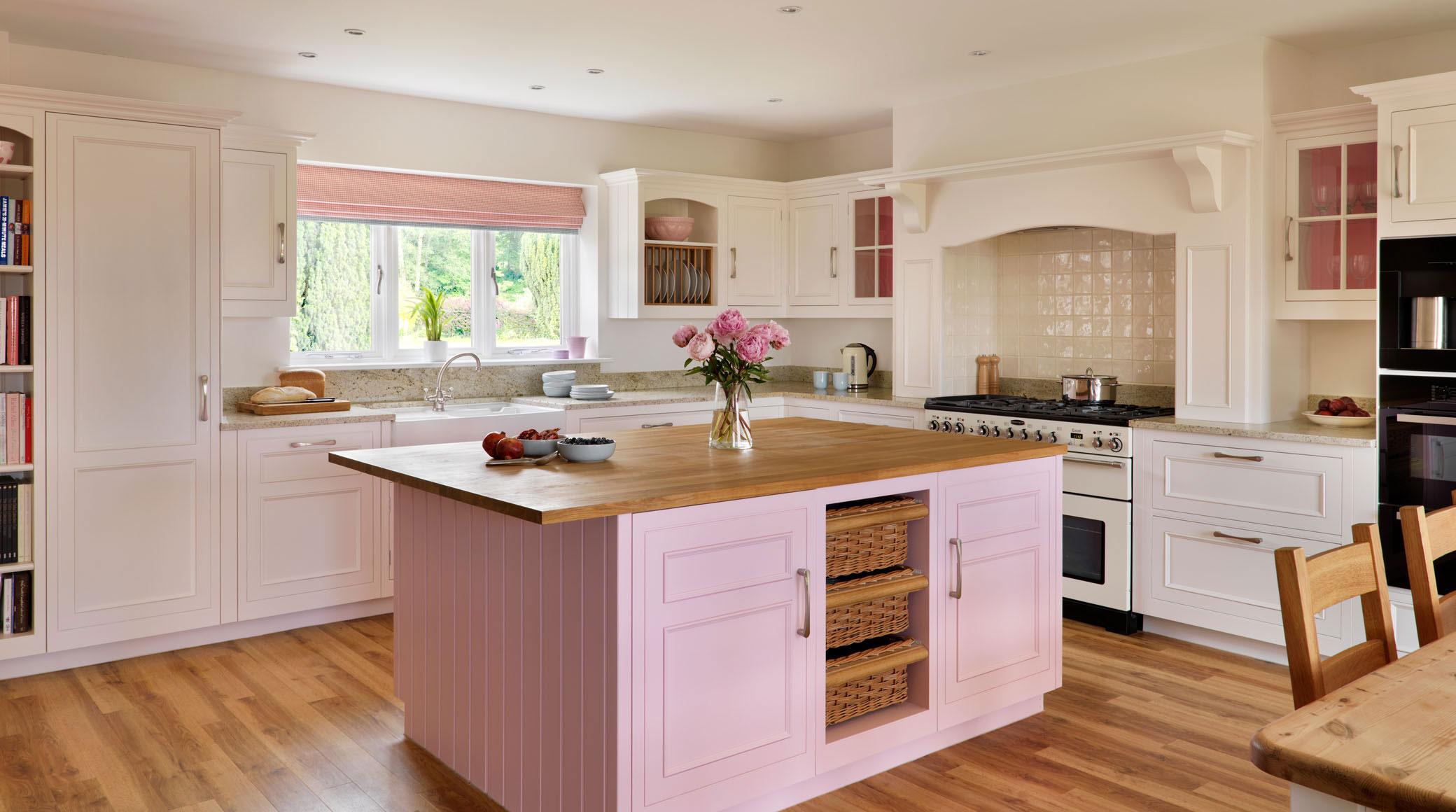 Thiết kế bếp gam màu hồng mê hoặc chị em phụ nữ từ cái nhìn đầu tiên - 4