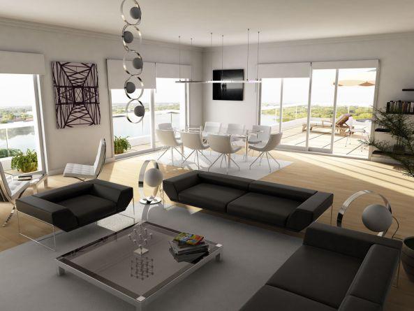 Lạc trôi cùng những thiết kế nội thất phòng khách sang trọng - 2