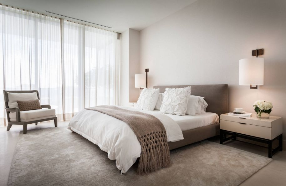 Ấm áp với thiết kế phòng ngủ gam màu nâu cho ngôi biệt thự của bạn - 1