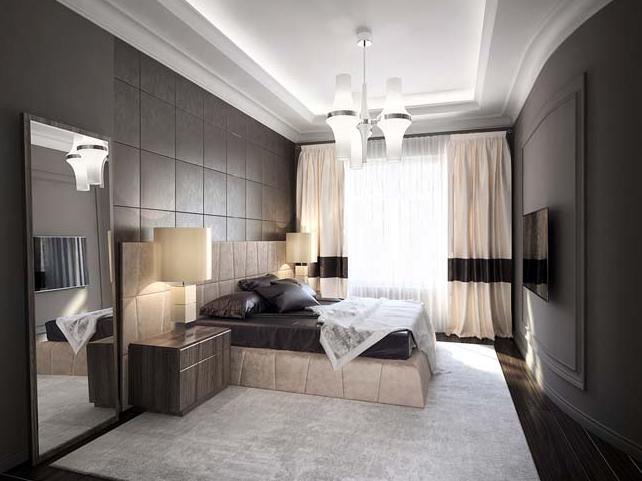 Các mẫu thiết kế phòng ngủ biệt thự theo phong cách hiện đại đẹp hút mắt - 3
