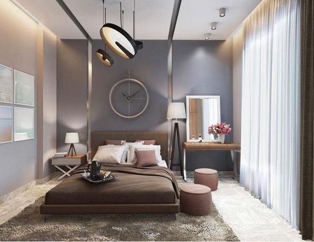Các mẫu thiết kế phòng ngủ biệt thự theo phong cách hiện đại đẹp hút mắt - 5