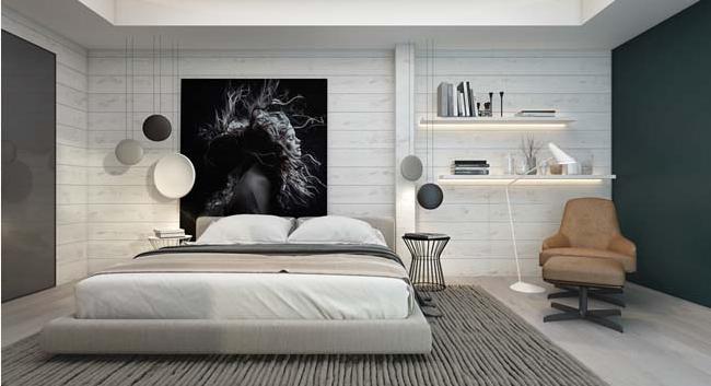 Các mẫu thiết kế phòng ngủ biệt thự theo phong cách hiện đại đẹp hút mắt - 6