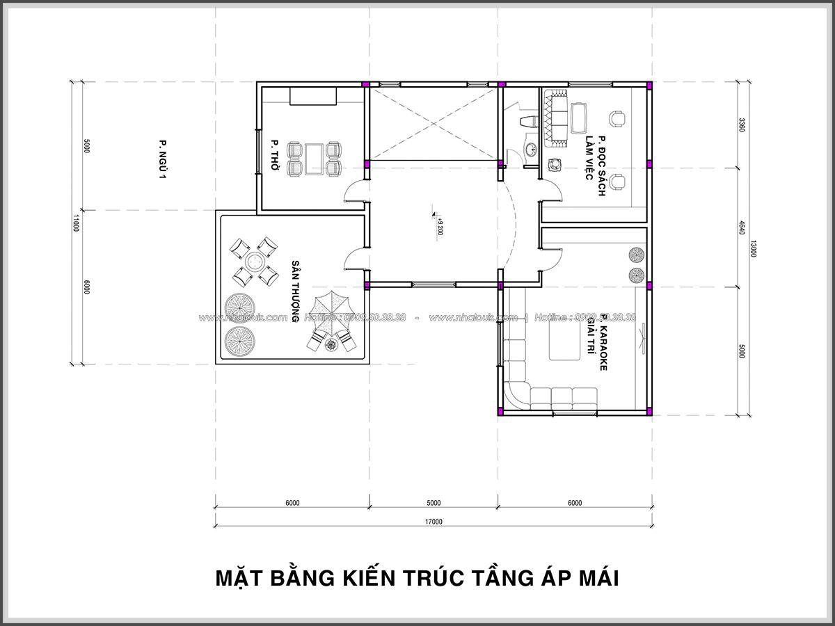 Thiết kế biệt thự hồ bơi 3 tầng 2 mặt tiền đẳng cấp tại Củ Chi - 6