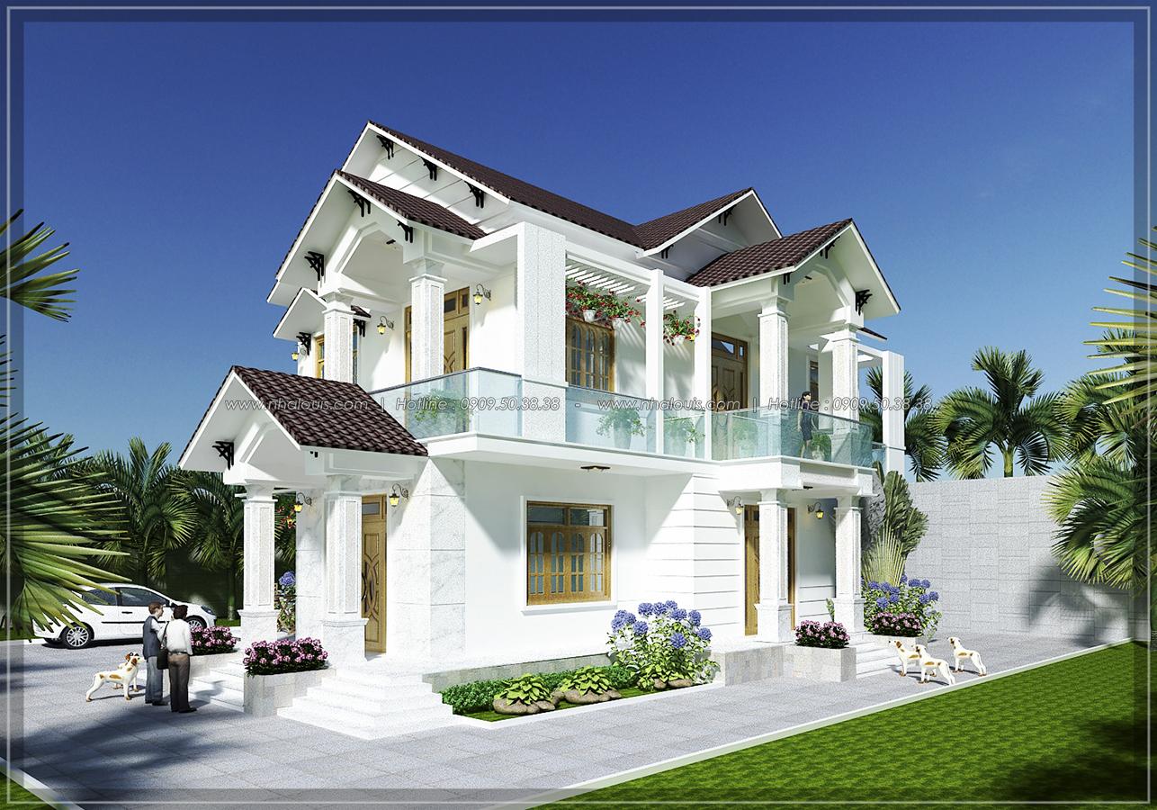 Thiết kế biệt thự phong cách Á Đông với mái ngói ở Khánh Hòa - 3