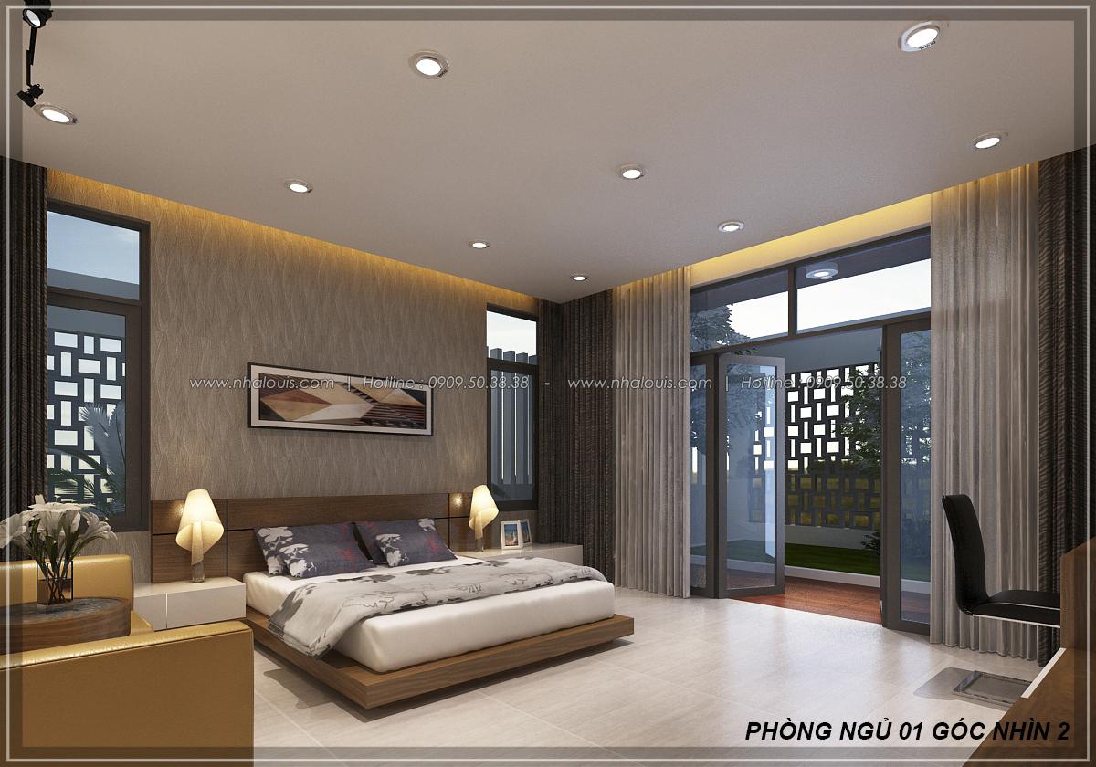 Thiết kế biệt thự nhà vườn 2 tầng phong cách Châu Âu tại Kiên Giang - 17