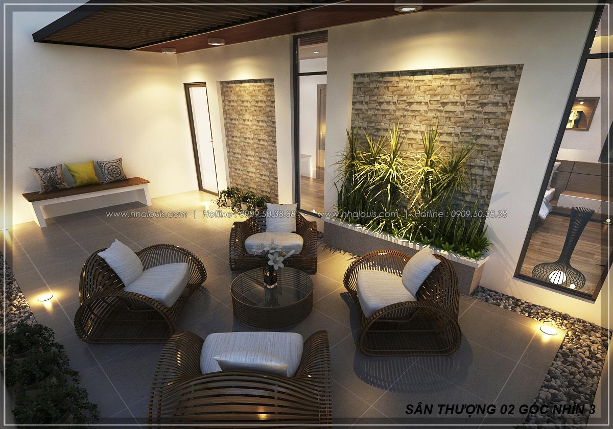 Thiết kế biệt thự nhà vườn 2 tầng phong cách Châu Âu tại Kiên Giang - 18