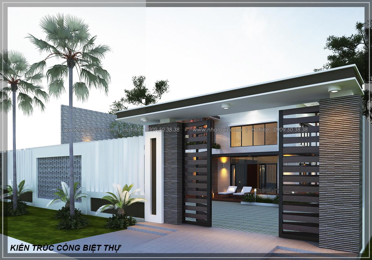 Thiết kế biệt thự nhà vườn 2 tầng phong cách Châu Âu tại Kiên Giang - 5