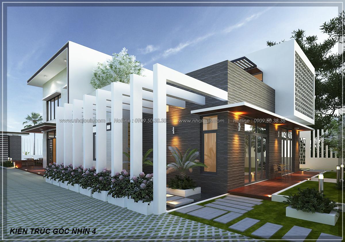 Thiết kế biệt thự nhà vườn 2 tầng phong cách Châu Âu tại Kiên Giang - 6