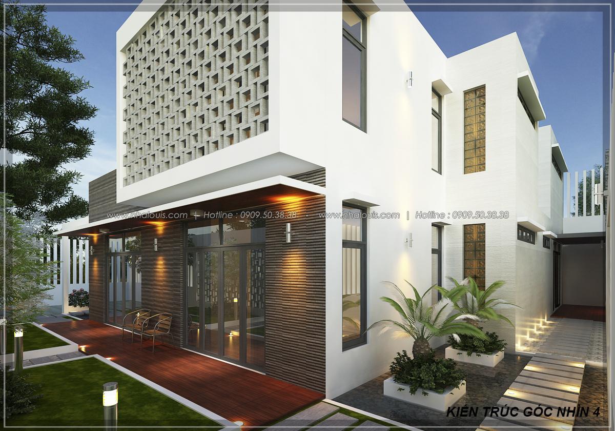Thiết kế biệt thự nhà vườn 2 tầng phong cách Châu Âu tại Kiên Giang - 7